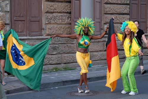 Die Fans freuen sich auf die WM 2014 in Brasilien (Quelle:nib!)