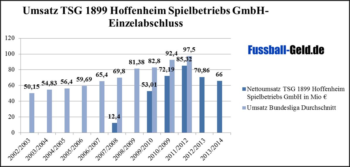 Umsatz Hoffenheim